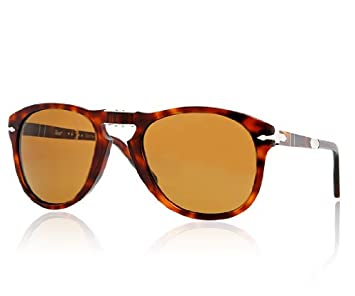e4454d5cf2 Image Unavailable. Image not available for. Color  Persol Sunglasses PO0714  24 57 Havana Brown Polarized 54mm