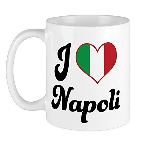 CafePress Italy I Heart Napoli Mug Unique Coffee Mug, Coffee ()