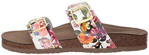 887865298632 - Madden Girl Women's Brando Flip Flop, White/Multi, 7.5 M US carousel main 4