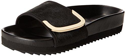 Aldo Women's Haima Platform Sandal, Black, 39 EU/8.5 B US