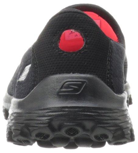 Skechers Go Walk 2, Damen Sneakers, XX Schwarz (Black)