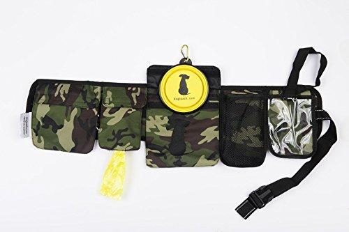 - FreshStart DogiPack Hands Free and Organizational Dog Walking Belt (Camouflage)