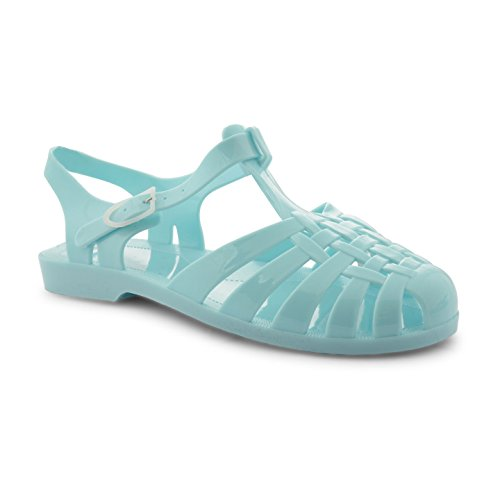 Footwear Sensation - Sandalias de vestir para mujer negro negro negro - azul claro