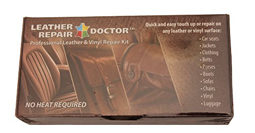 Liquid Leather Repair Kit: 7 Color, No-Heat, Fast Drying, Professional Leather & Vinyl Furniture, Car Seats, Jacket