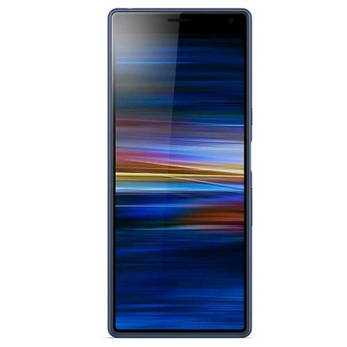 - Sony Xperia 10 Plus i4293 64GB, Dual Sim, 6GB RAM, 6.5 inches, 12MP + 8MP Dual main camera, GSM Unlocked International Model, No Warranty (Navy Blue)