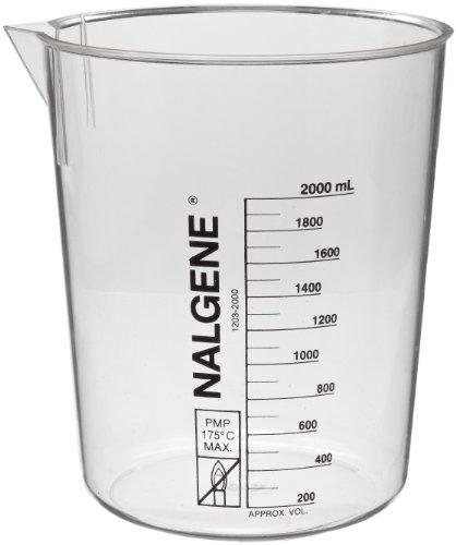 Flame Catalog Number (Nalgene 1203-2000 Polymethylpentene Low Form Griffin Beaker, 2000mL Capacity)