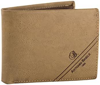 Wallet man ANTONIO BASILE with coin purse and flap cuoio VA212