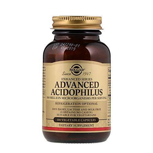 Advanced Acidophilus Solgar 100 Vegetable Caps