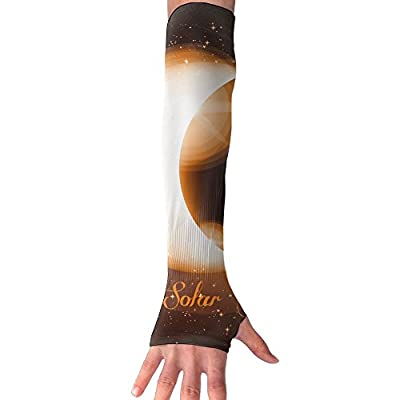 Solar Eclipse Art-01 Arm Compression Sleeve Sport Basketball UV Sun Protection