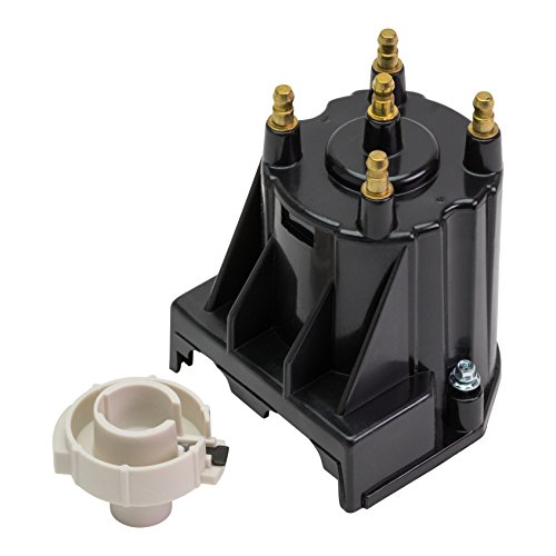 Tungsten Replacement Battery - Quicksilver 811635Q2 Distributor Cap Kit - Marinized 4-Cylinder Engines by General Motors with Delco EST Ignition Systems