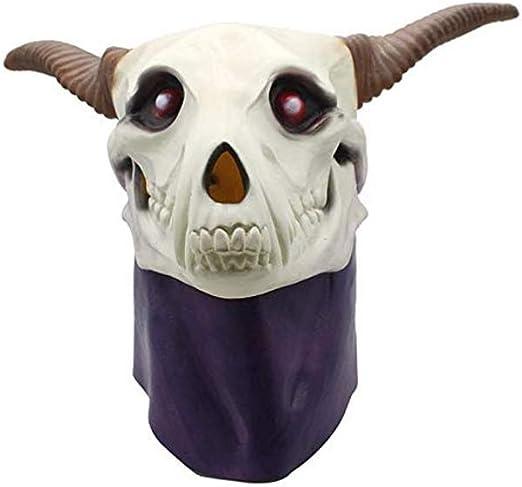 ERTY&OMB Máscara de Halloween Disfraz Realista Látex Máscara de ...