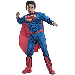 Rubie's Costume DC Superheroes Superman Deluxe Child Costume, Medium