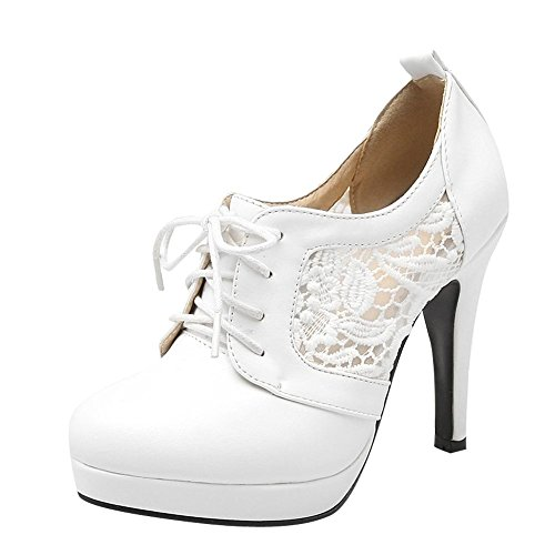Shine Show Oxfords Shoes Women's White Casual qnH1xand