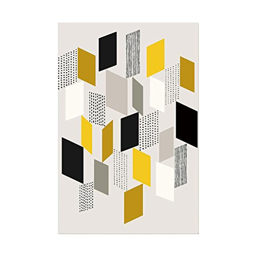 Price comparison product image wintefei Modern Abstract Geometric Wall Art Painting Home Room Wall Decoration - 3# 5070cm