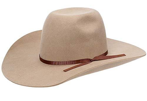 Chapéu De Feltro Country Bege Texas Diamond 21121