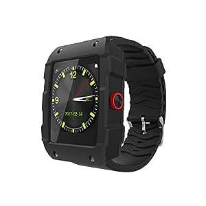 Amazon.com: techcomm V18 y GSM Unlocked Smartwatch con ...