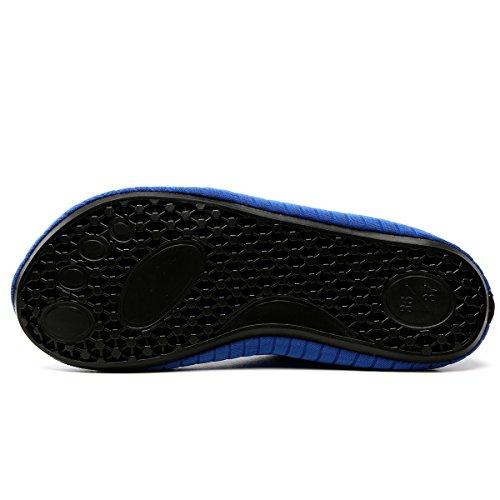 Surfschuhe Neoprenschuhe Damen LEKUNI Zwb01 Schuhe Barfuß Strandschuhe Badeschuhe Wasserschuhe blau LK Kinder Herren Aquaschuhe Rutschfeste Schwimmschuhe HqYwOw