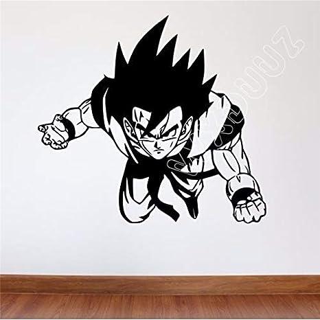 Comics Dragon Ball Z Tatuajes de pared Goku Vinilo removible ...
