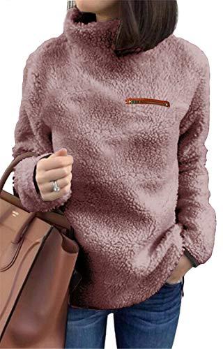 触感超柔软,休闲保暖加绒套头衫
