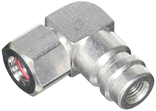 Service Port Fitting - FJC FJC2633 Service Port Adapter (90 Degree High Side R-134a)