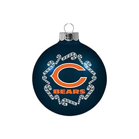 NFL Chicago Bears Small Ball Ornament - Chicago Bears Christmas Ornament