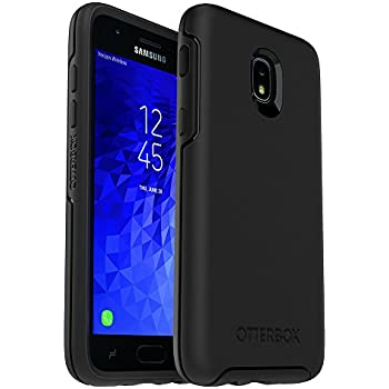 separation shoes 9f11a c2245 OtterBox Symmetry Series Case for Samsung Galaxy J3/J3 (2018)/J3 V 3rd  gen/J3 3rd gen/Amp Prime 3/J3 Star - Retail Packaging - Black