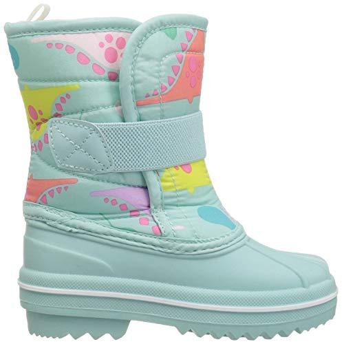 The Children's Place Girls Snow Boot, Mint Tea, TDDLR 6 Child US Toddler by The Children's Place (Image #6)
