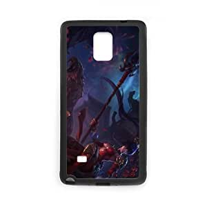League of Legends(LOL) Nidalee Samsung Galaxy Note 4 Cell Phone Case Black DIY Gift pxf005-3721928
