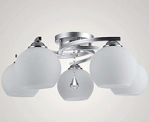 Moderne Lampen 5 : Moderne und minimalistische glas lampen drei kopf 5 kopf
