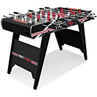 Rec-Tek 4-Feet Foosball Table Soccer Game with LED Scoring