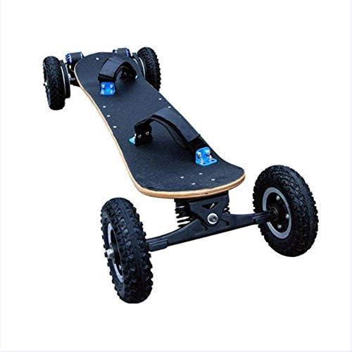 40 km / h電気スケートボードマウンテンボードオフロードデュアルエンジンダブルドライブ1200W高品質マウンテンボードLG 11Ahバッテリーワイヤレス2.4Ghzリモートコントロール