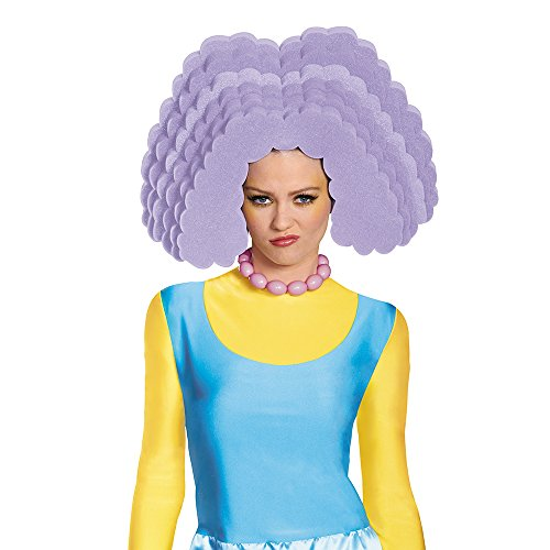 Disguise Women's Selma Costume Wig, Purple, One Size
