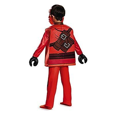 Kai Deluxe Ninjago Lego Costume, Small/4-6: Toys & Games