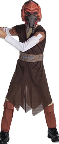 (Rubie's Star Wars Clone Wars Child's Plo Koon Costume and Mask,)