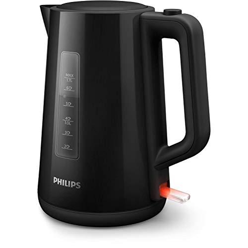 Philips Waterkoker – 2200 Watt – Waterreservoir 1.75 liter – Te vullen via deksel – Opbergvak voor snoer – Automatisch…