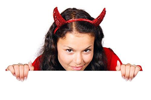 Home Comforts Peel-n-Stick Poster of Devil Halloween Board