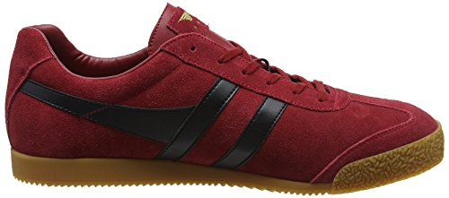 Baskets Hb Homme Harrier Rouge Gola Black Suede Red Deep qfpZA4