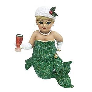 41gASGcCeAL._SS300_ 100+ Mermaid Christmas Ornaments
