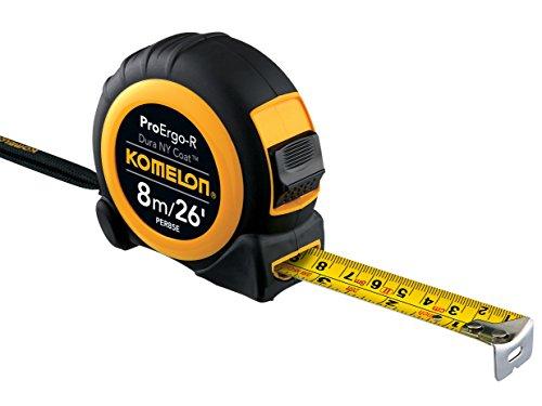 Komelon Pro Ergo-R Superior Tape Measure PER826E | 8m/26ft by Komelon (Image #1)