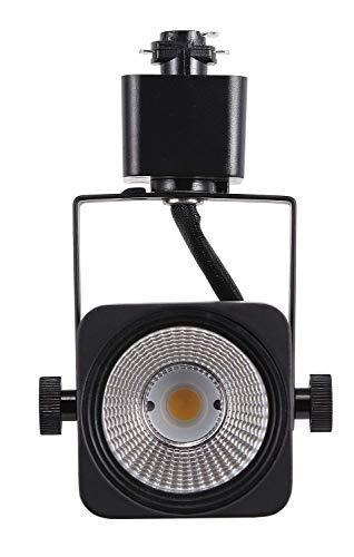 Cloudy Bay 8W Dimmable LED Track Lights Head,CRI 90+ Daylight 5000K,Adjustable Tilt Angle Track Lighting Fixture,120V 40