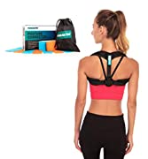 A Healthier, Happier You with our posture corrector with pads! Our mission is to help people live happier, healthier lives. Strong posture brace is the key to a healthier upper body and can increase confidence. Feel good knowing you look good and are...