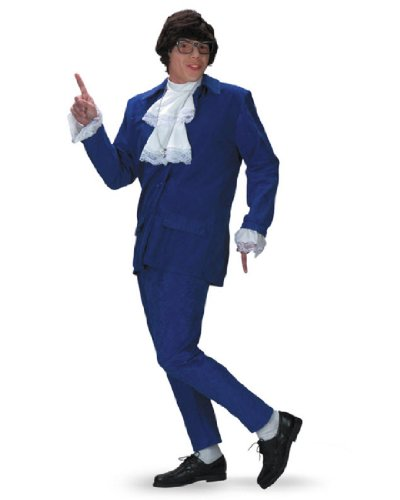 Austin Powers Deluxe Adult Costume Size XL 42-46