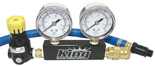 King Racing Products 1915 Leak Down Tester Dual