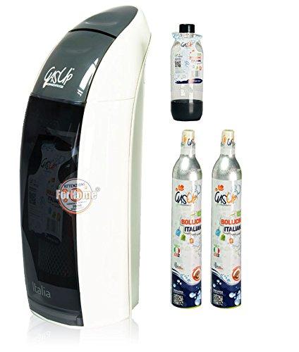 carbonatador Agua gas-up Italia Grey + 1 bott. de 1lt + 2 bombonas co2 de 450 gr: Amazon.es: Bricolaje y herramientas