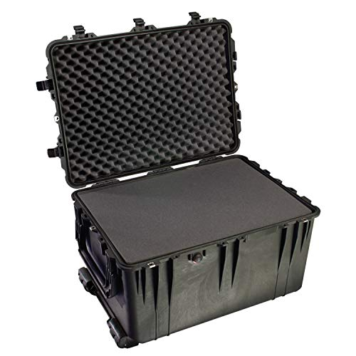 Pelican 1660 Case With Foam (Black) - Gun Case Console