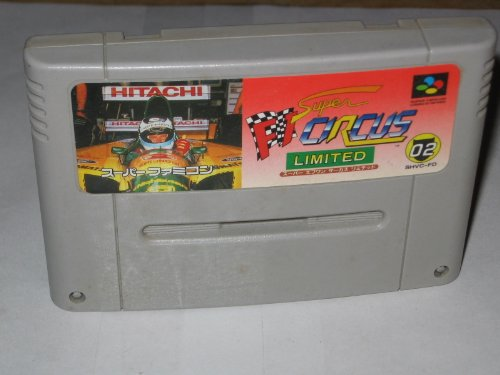 Super F1 Circus Limited [Super Famicom]