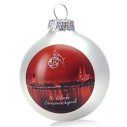 Christbaumkugeln Köln.Bauble Christmas Tree Decorations 1 Fc Köln Amazon Co Uk Sports