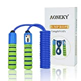 Aoneky Adjustable Kids Jump Rope with Counter and Comfortable Handles