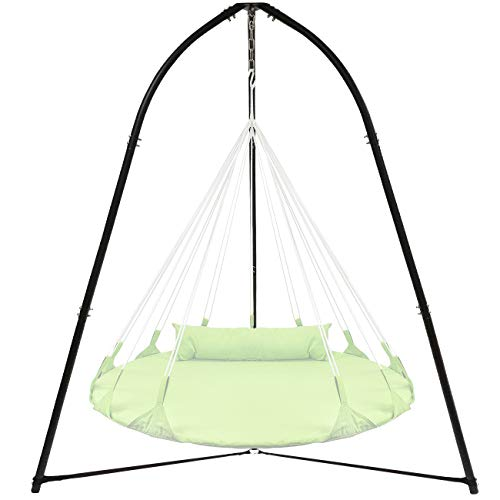 - Sorbus Tripod Hanging Chair Stand Frame for Hanging Chairs, Swings, Saucers, Loungers, Cocoon Chairs, Great for Indoor/Outdoor Use, Patio, Lawn, Deck, Yard, Garden