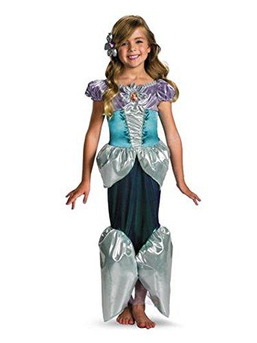 Ariel Shimmer Deluxe Costume - Medium (7-8)
